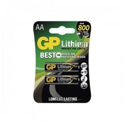 Baterii GP Lithium AA FR6, 1.5V - 4 buc.